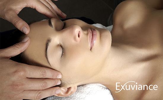 exuviance ansigtsbehandling