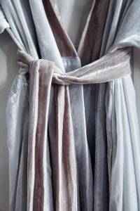 fabric copenhagen velvet kimono